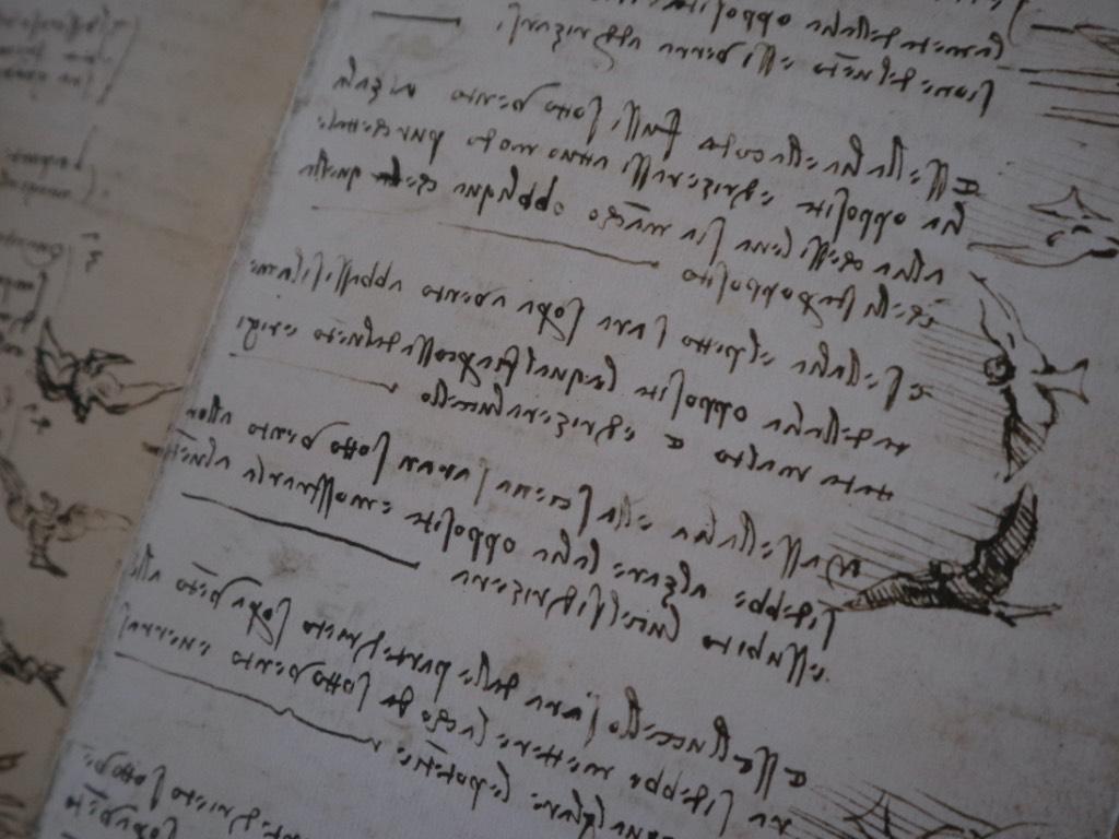 codice del volo - Leonardo da Vinci