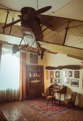 museo del volo - castello di san pelagio